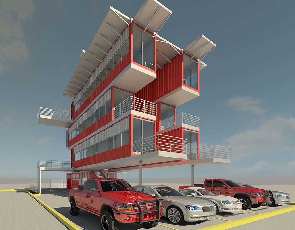 Scott Street Container Housing